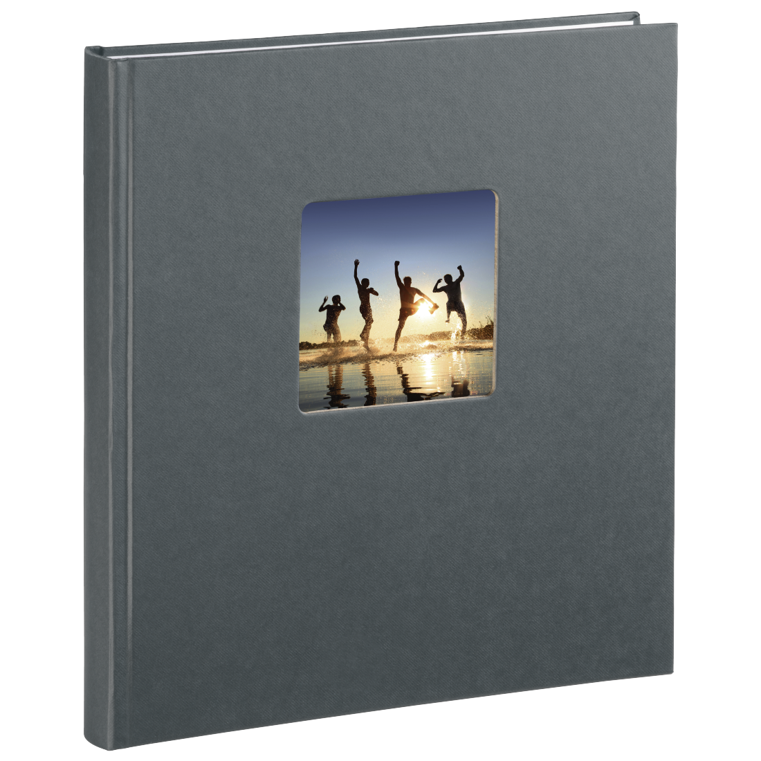 00002117 hama buch album fine art 29 x 32 cm 50 wei e seiten grau hama. Black Bedroom Furniture Sets. Home Design Ideas