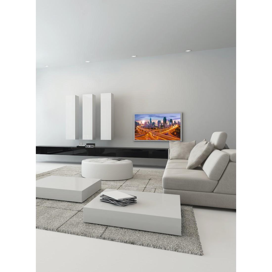 00118054 hama tv wandhalterung fix premium vesa 400x400 165 cm 65 schwarz hama. Black Bedroom Furniture Sets. Home Design Ideas