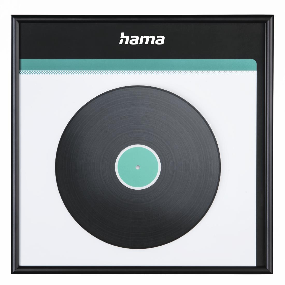 hama-suisse.ch | 00181445 Hama LP-Cover-Rahmen, Aluminium, Schwarz ...
