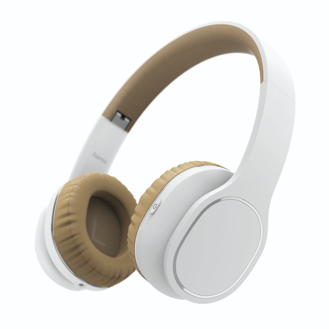 "abx High-Res Image - Hama, Casque Bluetooth® ""Touch"", supra-aur., micro., comm. tact., blc/beige"